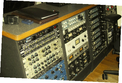 Stoughton Recording Studio Gear Rack
